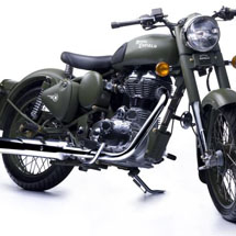 Royal Enfield Bullet Classic Army Green