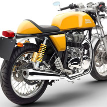 Royal Enfield Continental GT 535 Yellow