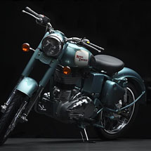 Royal Enfield Bullet Classic Green